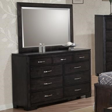 Private Reserve Dublin Drawer Dresser w/ Mirror