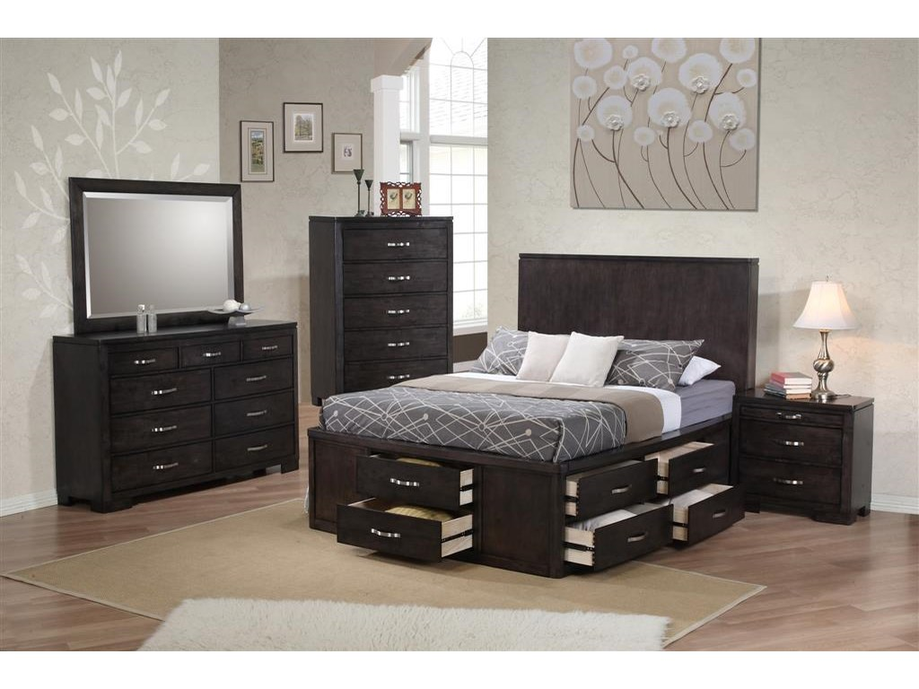 Private Reserve DublinKing Storage Bed