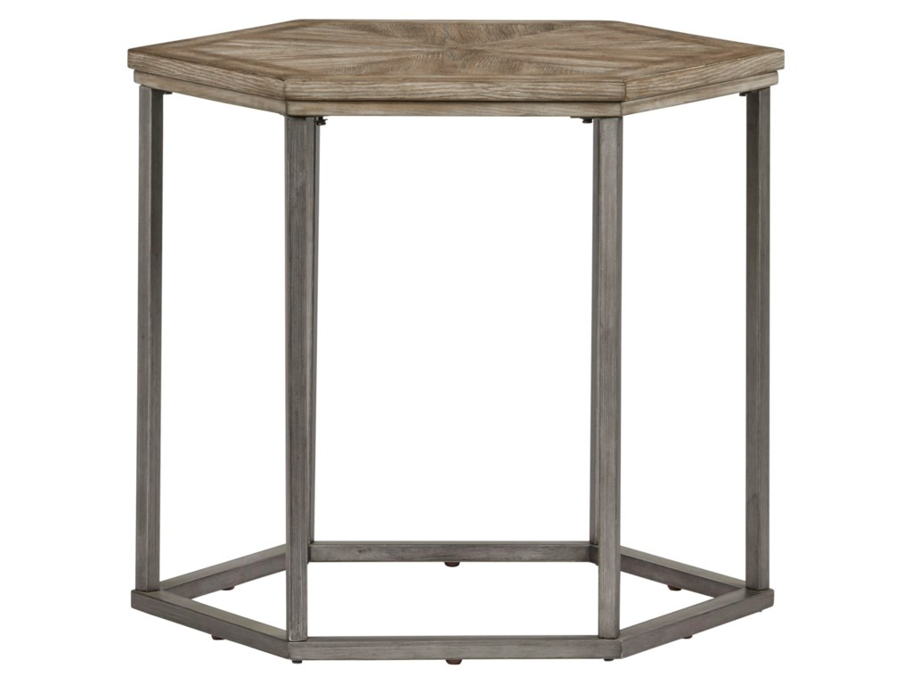 Progressive Furniture Adison CoveHexagon End Table