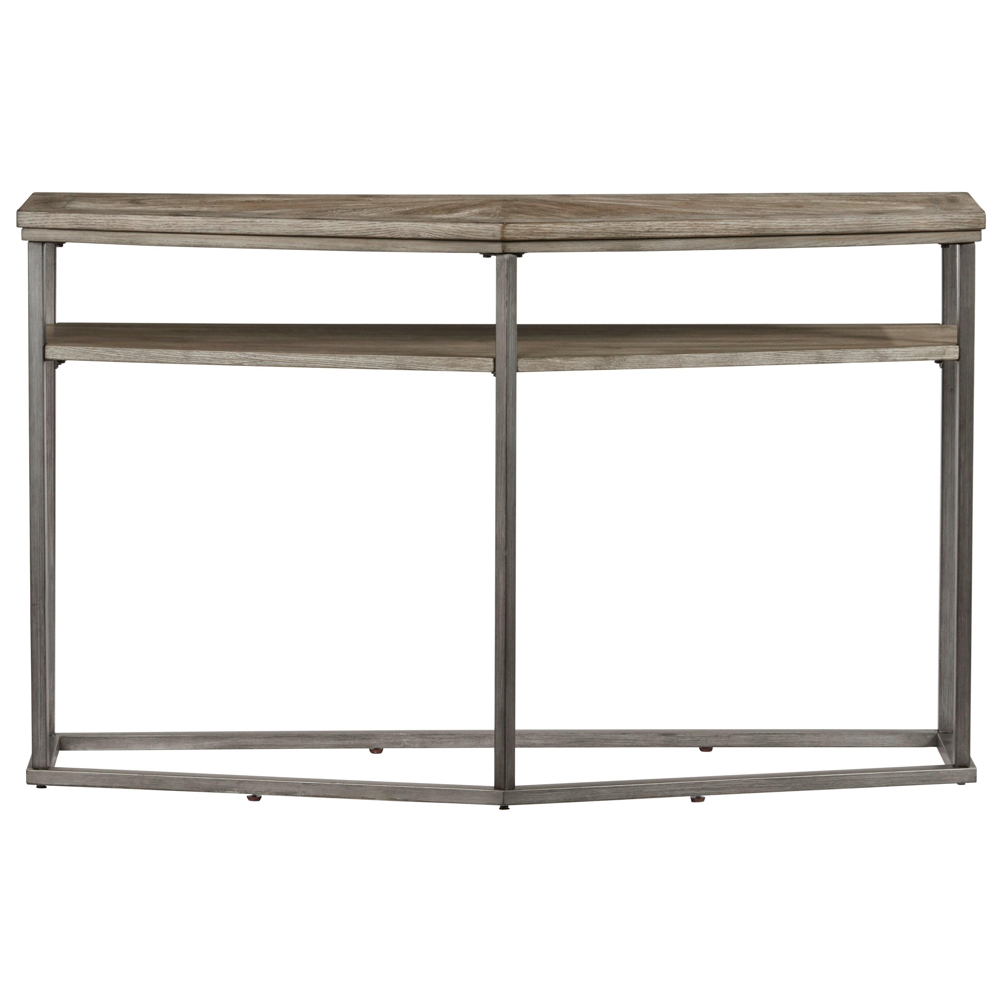 Progressive Furniture Adison Cove Ash Veneer Sofa/Console Table With Metal  Frame | VanDrie Home Furnishings | Sofa Tables/Consoles