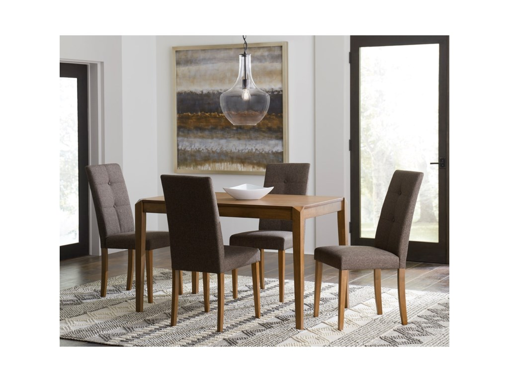 Progressive Furniture Arcade5-Piece Table and Chair Set