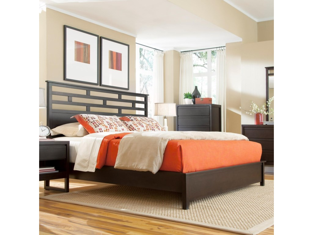 Progressive Furniture AthenaKing Panel Bed