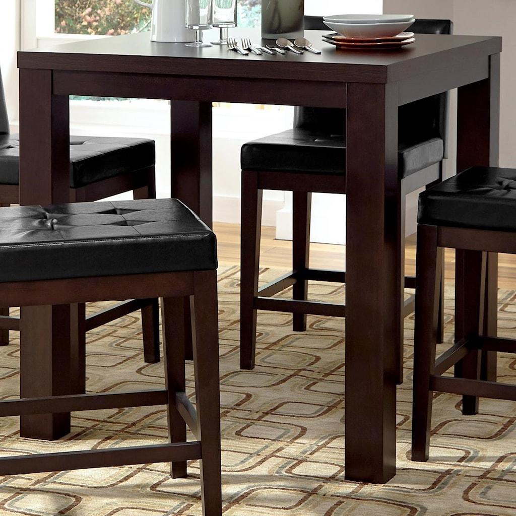 Progressive Furniture Athena P109d 16 Contemporary Square Counter