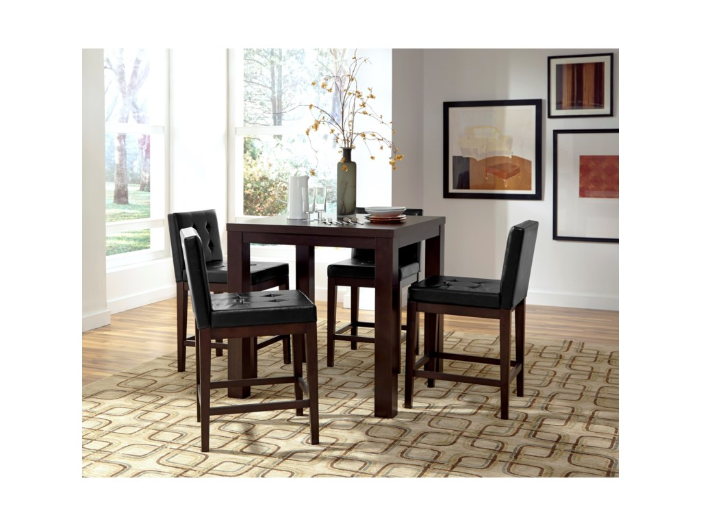 Progressive Furniture AthenaCounter Upholstered Dining Chair