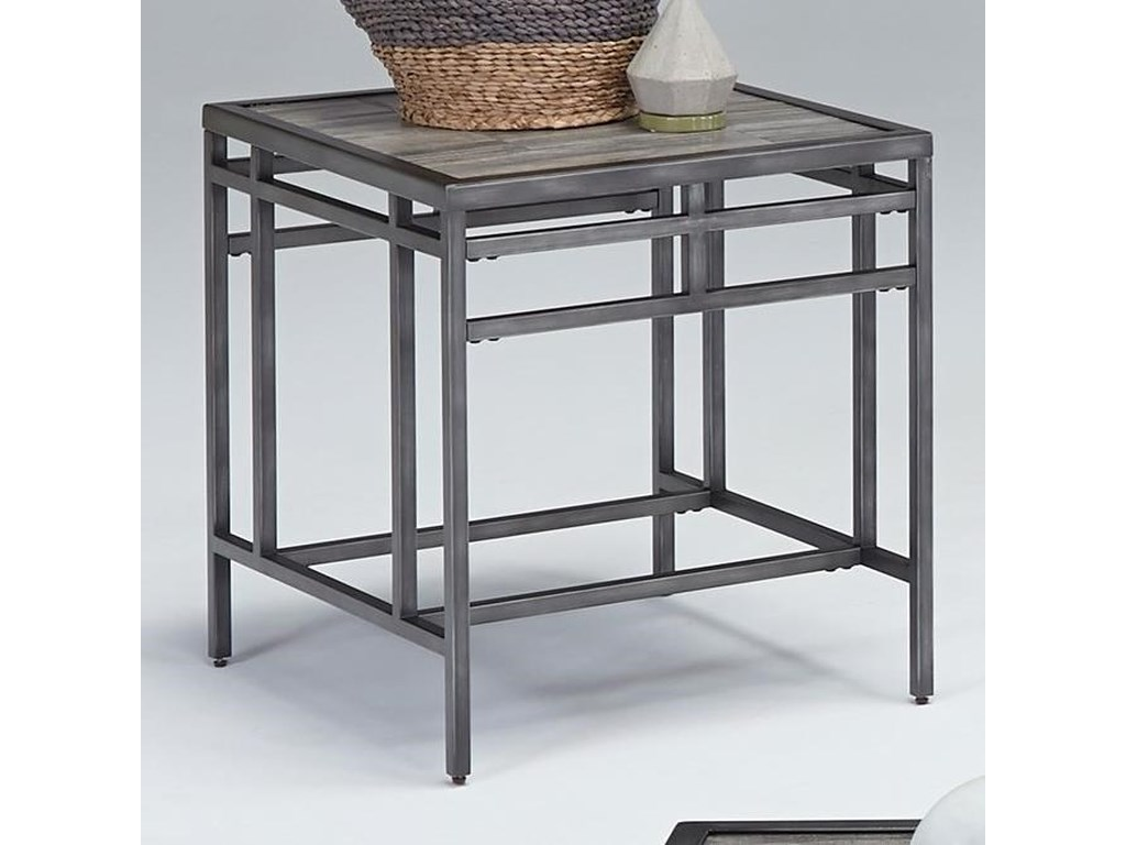 Progressive Furniture AuroraSquare End Table