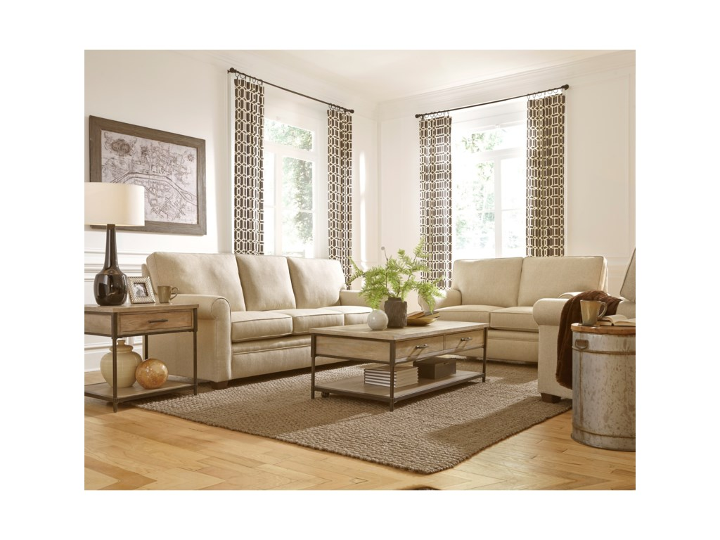 Progressive Furniture BaxterStationary Living Room Group