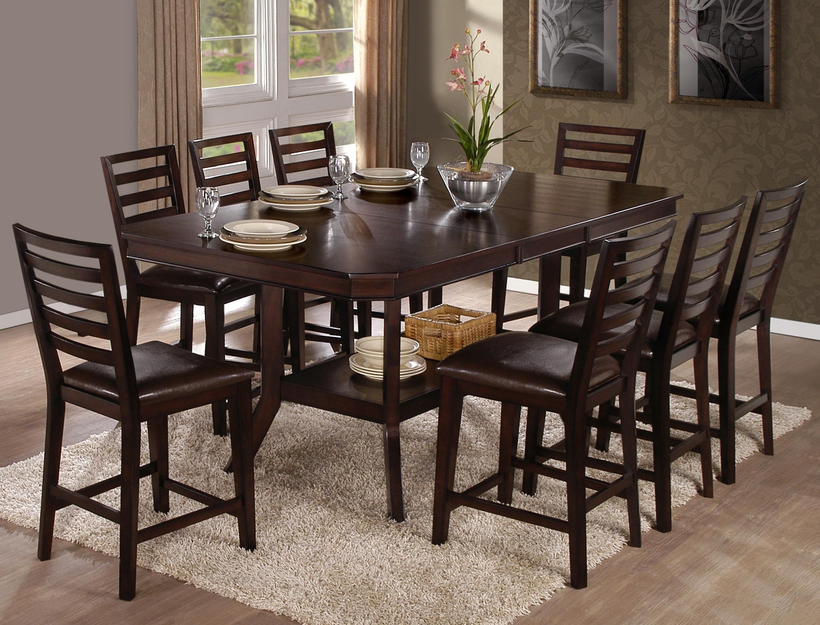 Progressive Furniture Bobbie9 Piece Counter Table Set
