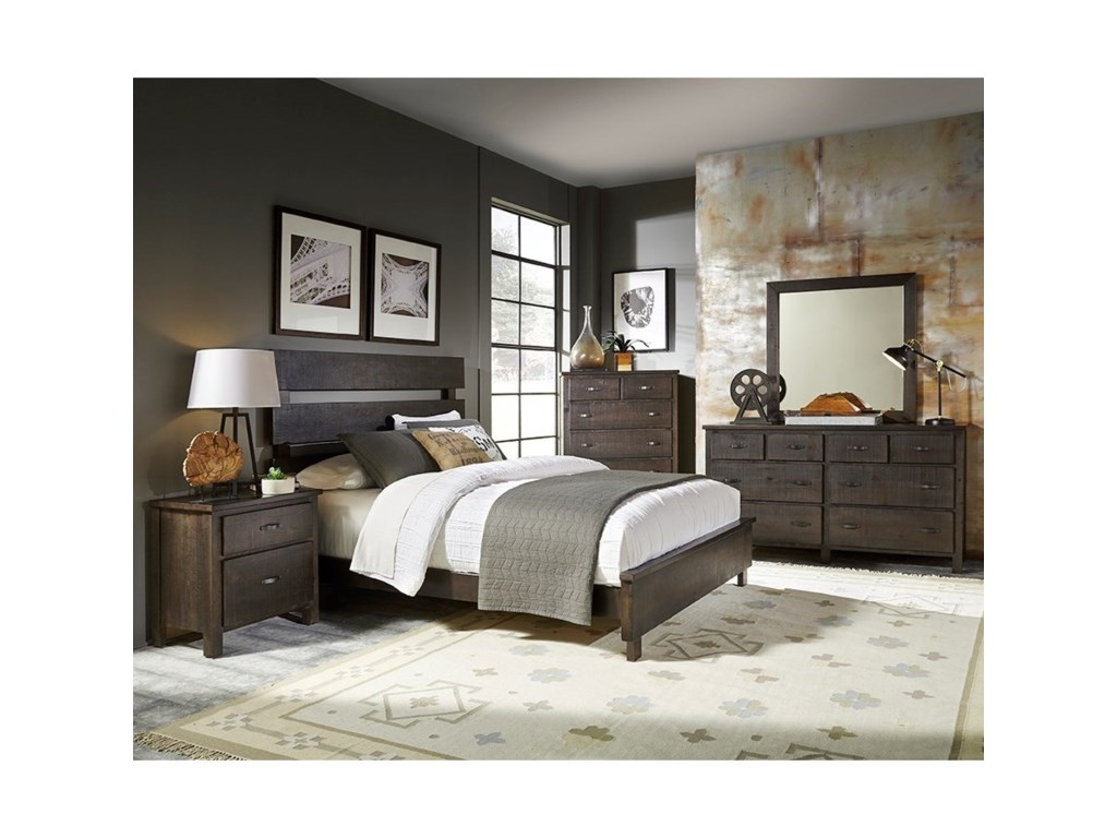 Progressive Furniture BrickyardQueen Bedroom Group