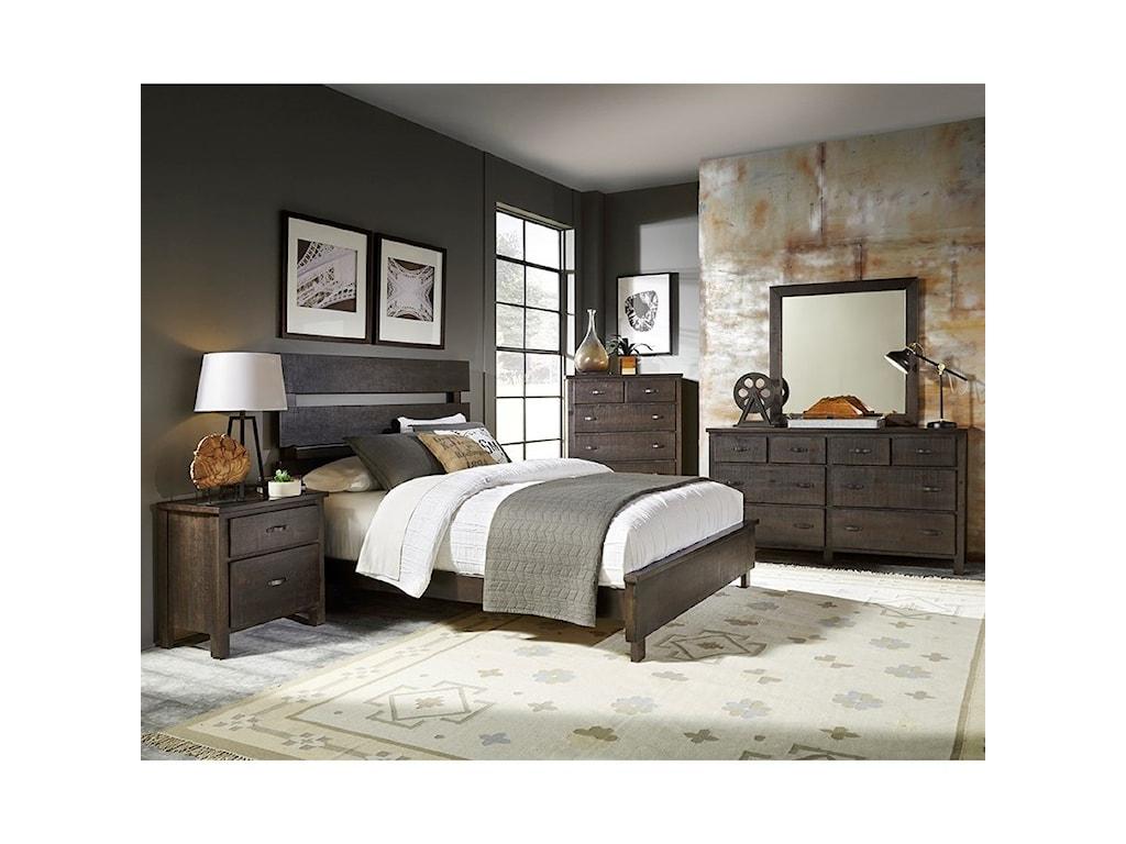 Progressive Furniture BrickyardDrawer Dresser