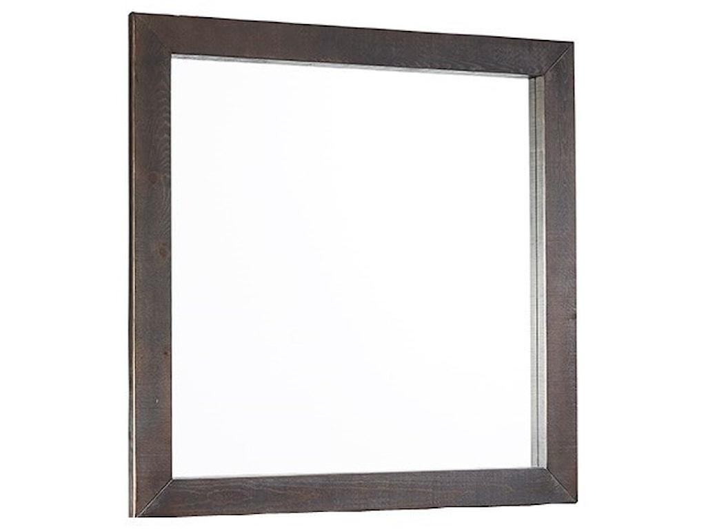 Progressive Furniture BrickyardSquare Mirror