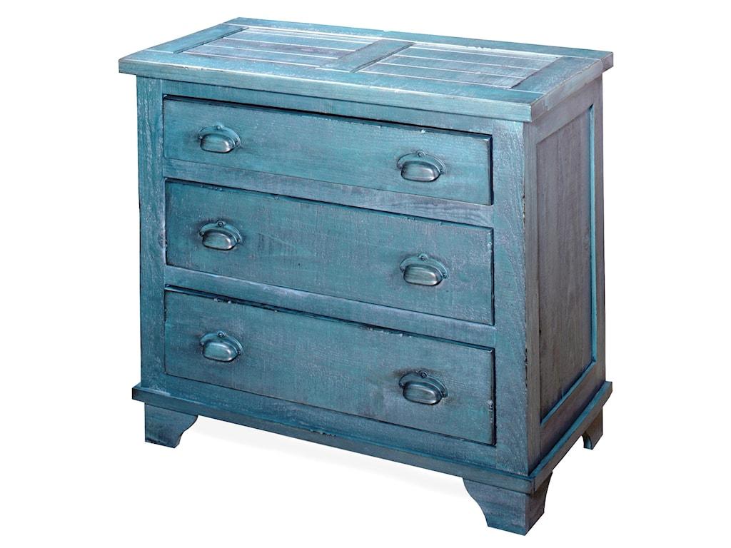 Progressive Furniture CamrynIndustrial Chest - Denim Blue