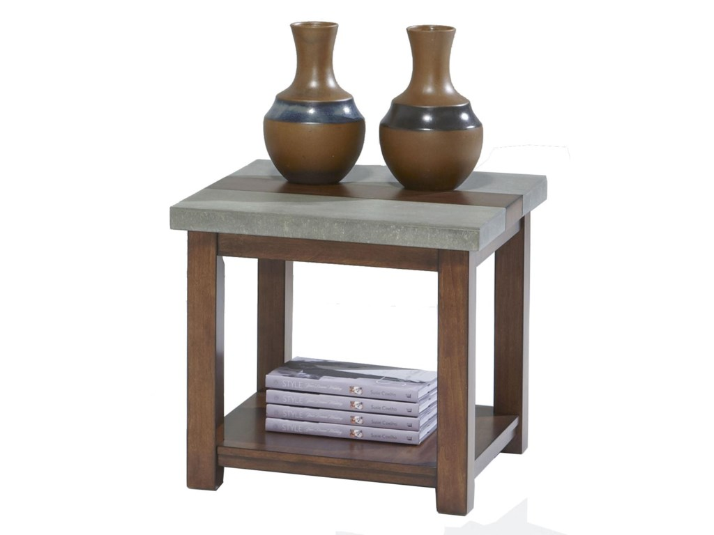 Progressive Furniture CascadeSquare Lamp Table