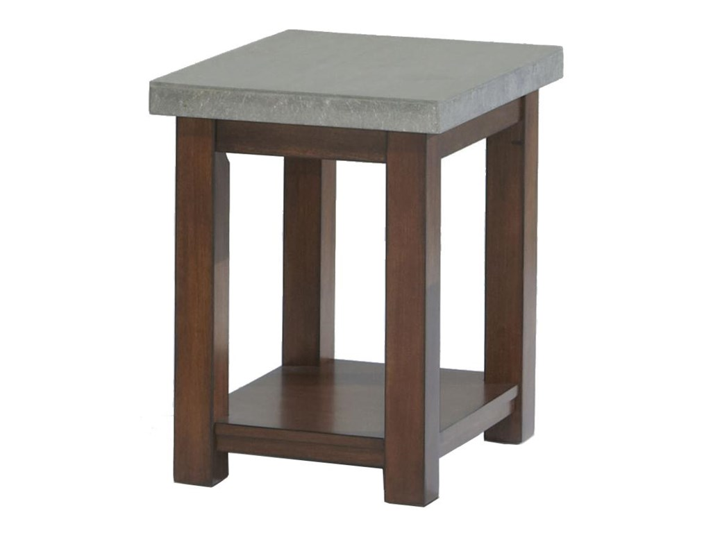 Progressive Furniture CascadeChairside Table