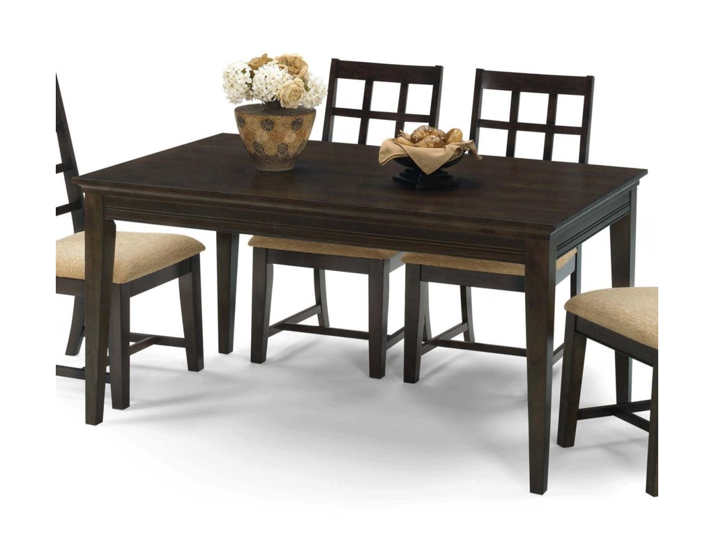 Progressive Furniture Casual Traditions5 Piece Rectangular Dining Set