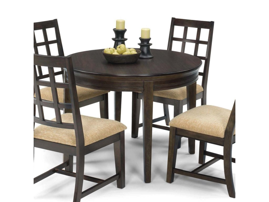 Progressive Furniture Casual Traditions5 Piece Round Dining Table Set