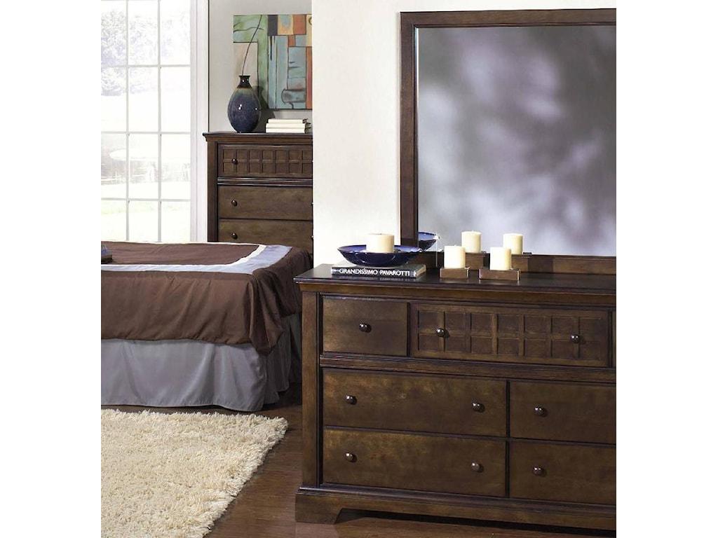 Progressive Furniture Casual TraditionsCasual Dresser and Mirror