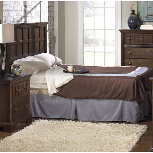 Progressive Furniture Casual Traditions Full/Double and Queen Casual Headboard