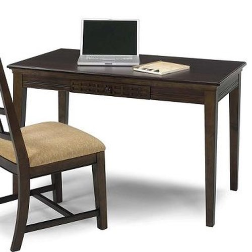 Progressive Furniture Casual Traditions Casual 4 Leg Writing Desk with 1 Drawer