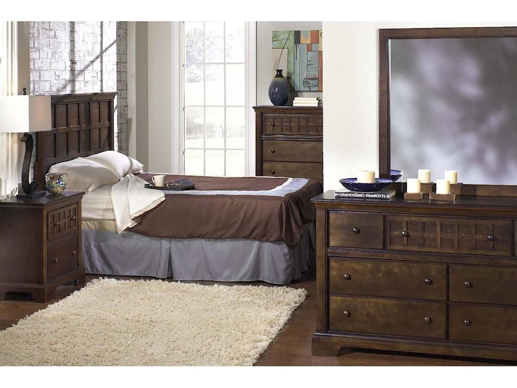 Progressive Furniture Casual TraditionsKing Headboard