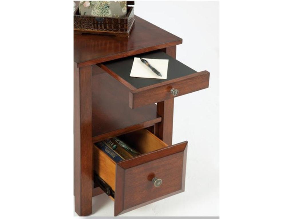 Progressive Furniture ChairsidesChairside Table