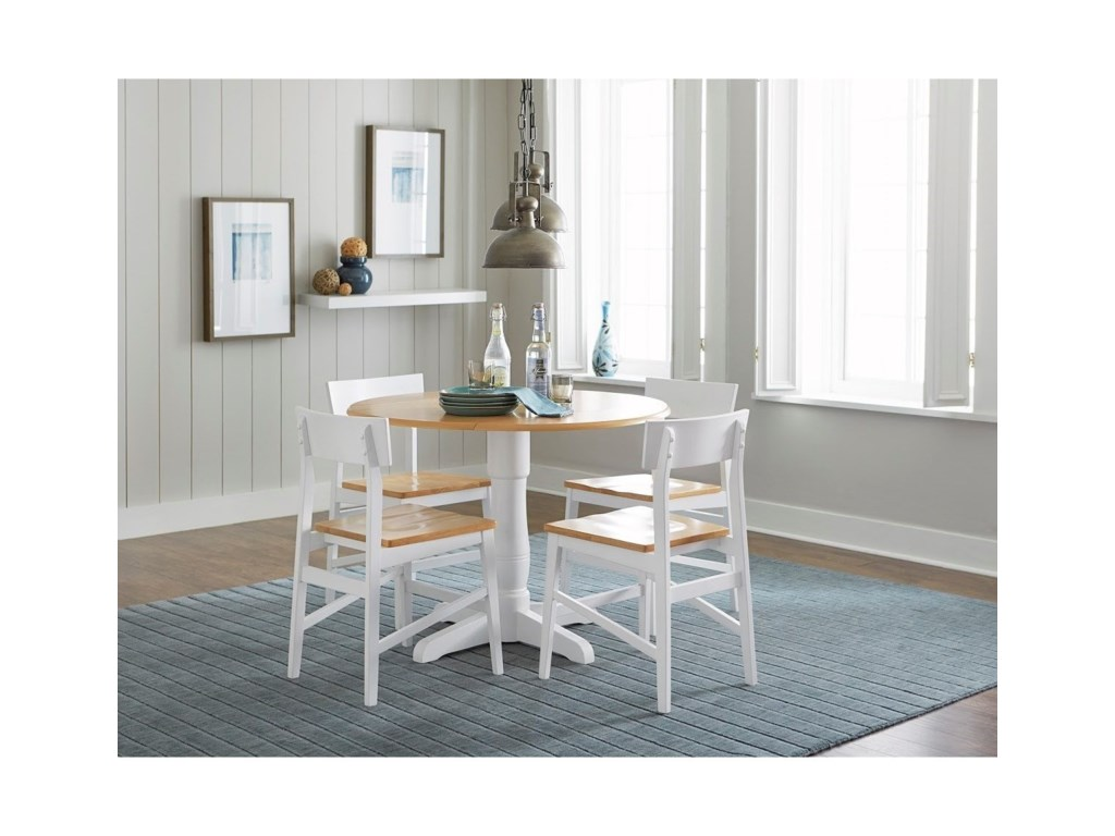 Progressive Furniture Christy5 Piece Round Table Set
