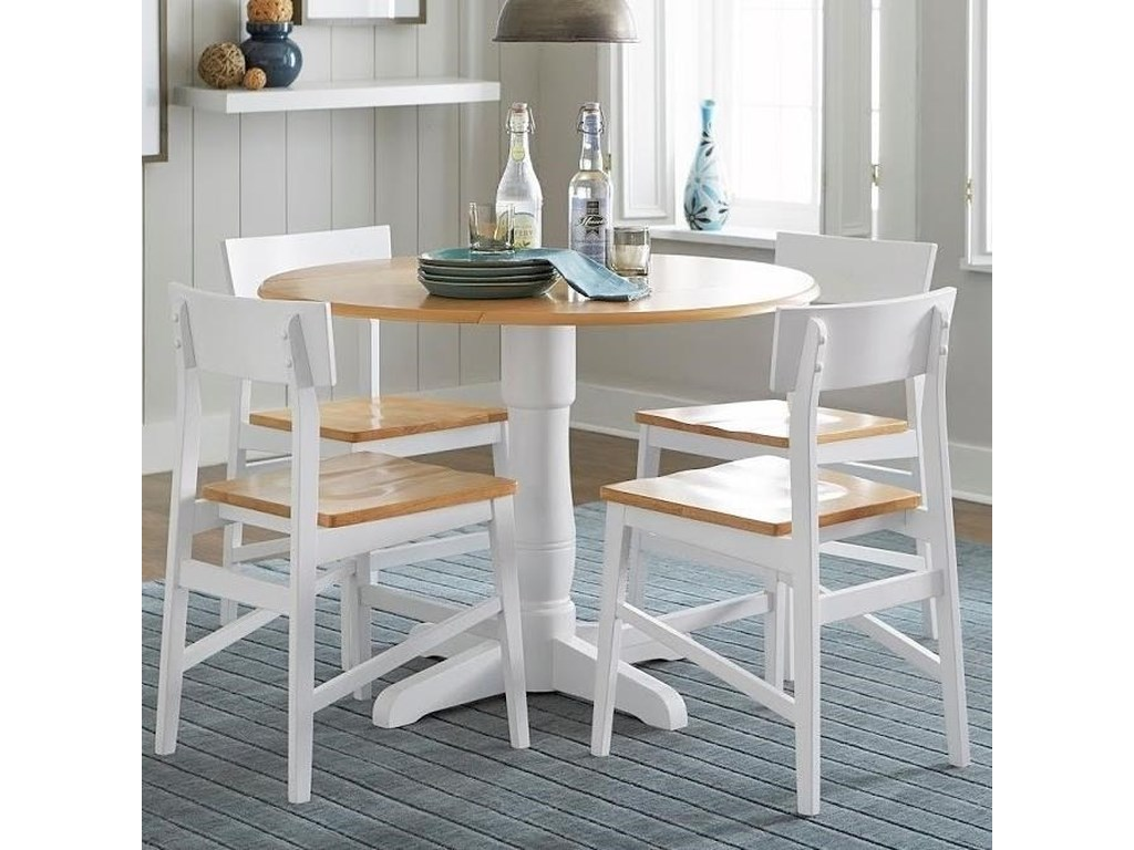 Christy Casual Dining Room Table with Drop Leaves by Progressive Furniture  at Lindy\'s Furniture Company