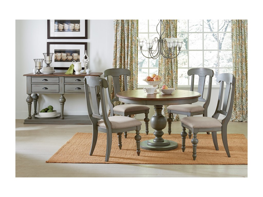 Progressive Furniture Colonnades Casual Dining Room Group