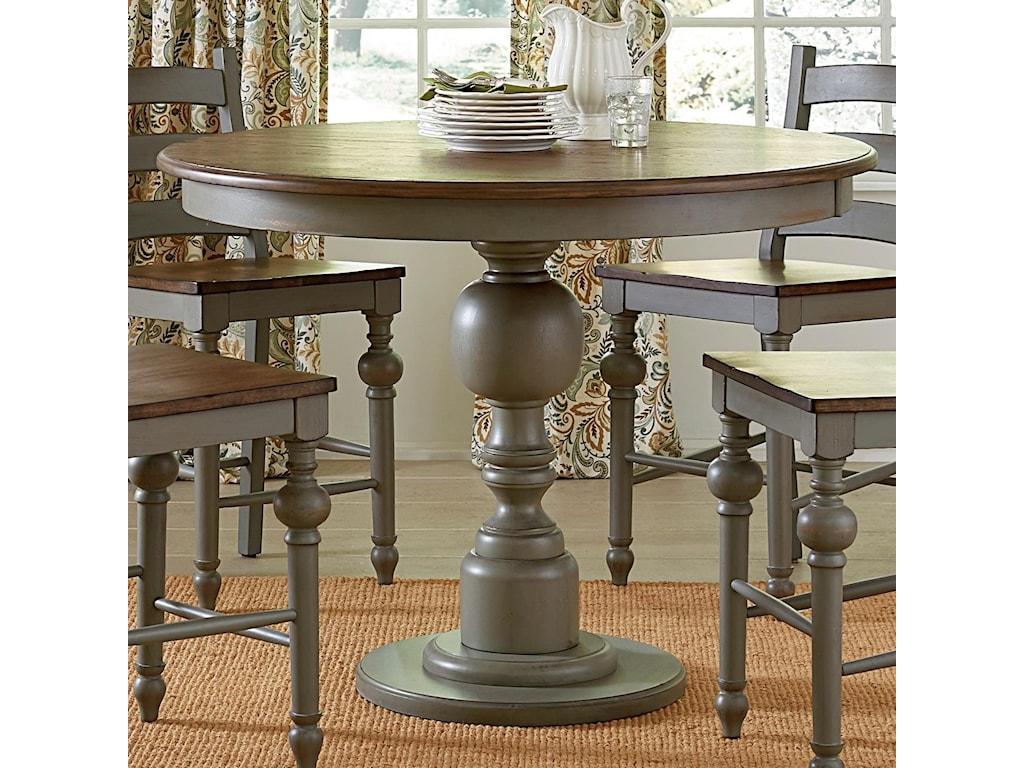 Progressive Furniture Colonnades Round Counter Table