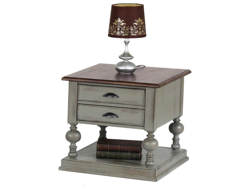 Progressive Furniture ColonnadesRectangular End Table