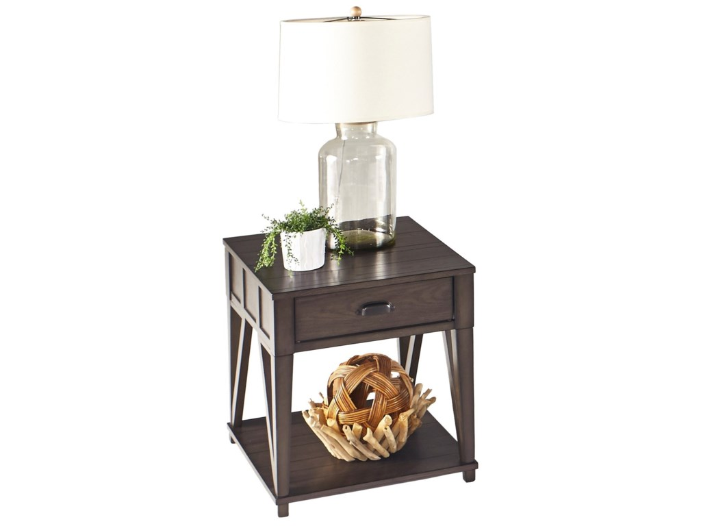 Progressive Furniture ConsortRectangular End Table