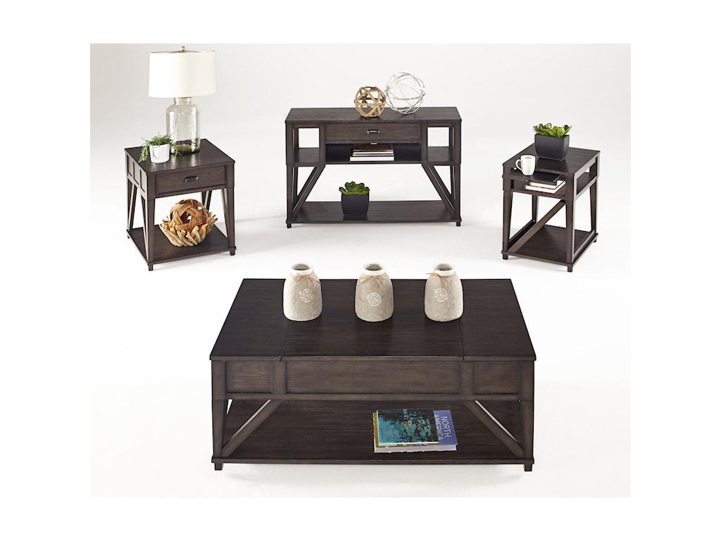 Progressive Furniture ConsortLift-Top Cocktail Table