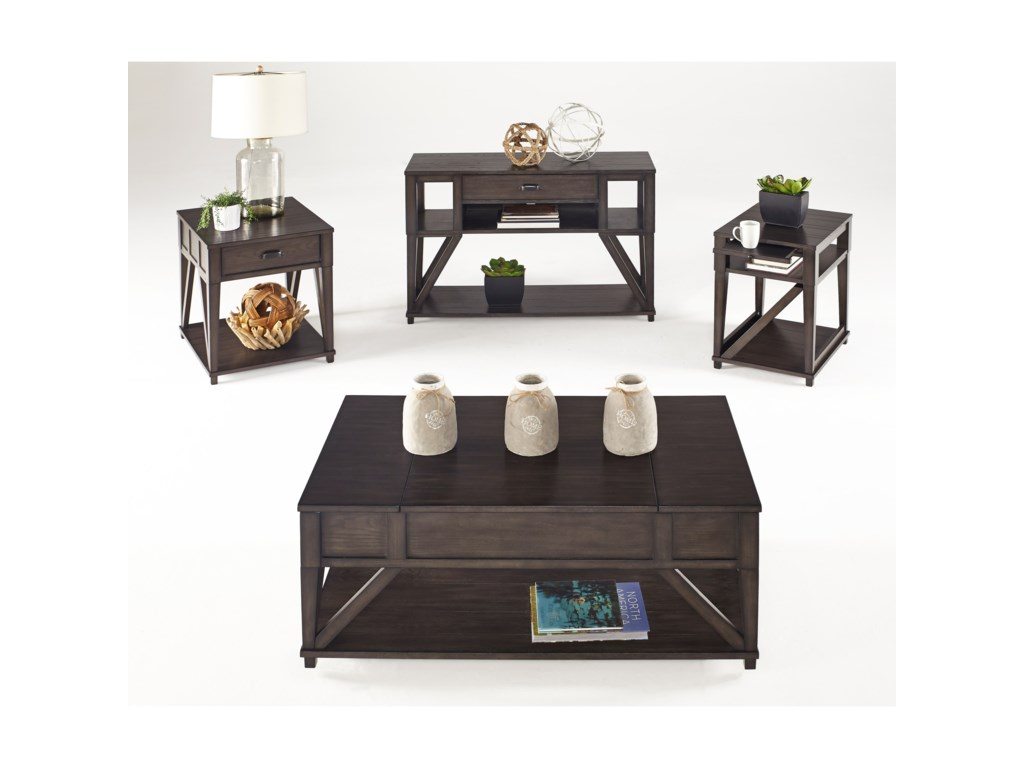 Progressive Furniture ConsortLift-Top Cocktail Table
