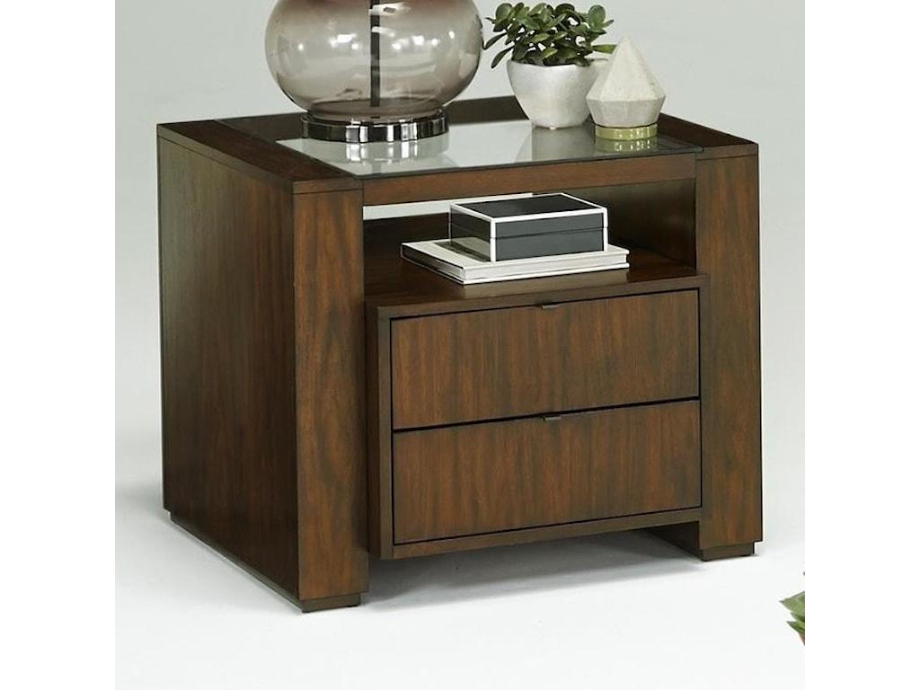 Progressive Furniture ContempoSquare Lamp Table