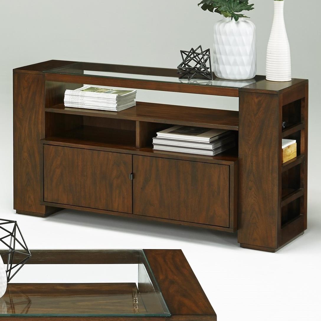Progressive Furniture Contempo Sofa/Console Table With Storage