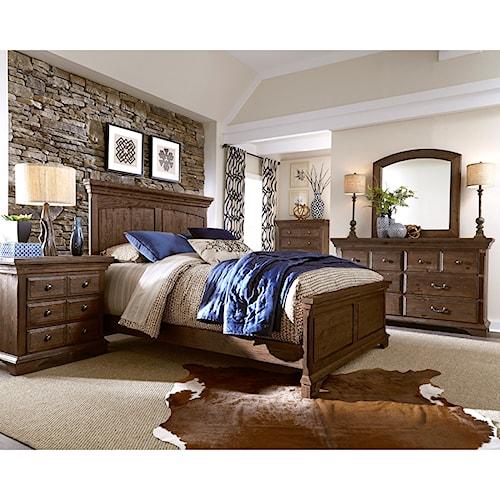 Progressive Furniture Copenhagen Queen Bedroom Group