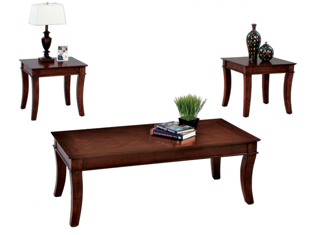 Progressive Furniture Corona3 Pack Occasional Table Set