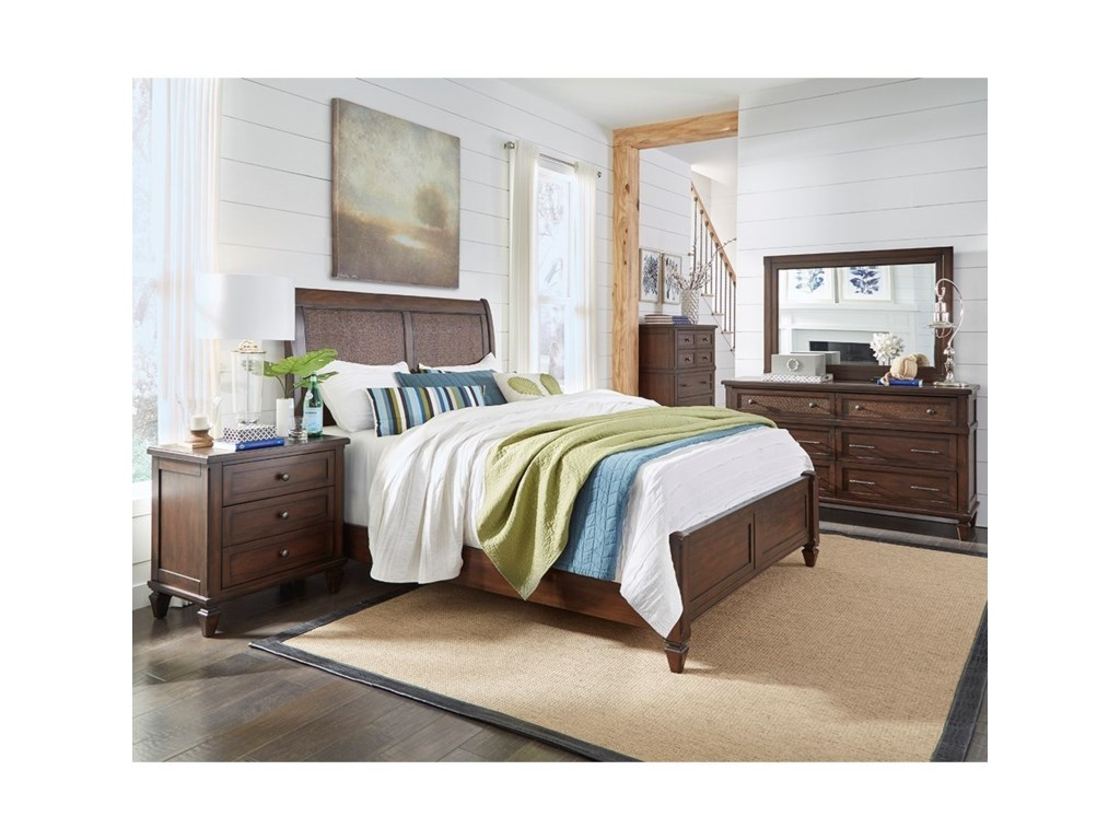 Progressive Furniture CoronadoQueen Bedroom Group
