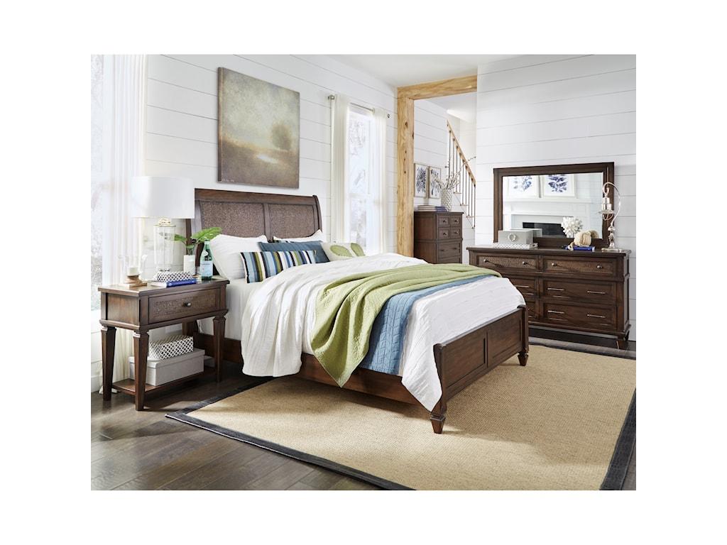 Progressive Furniture CoronadoKing Panel Bed