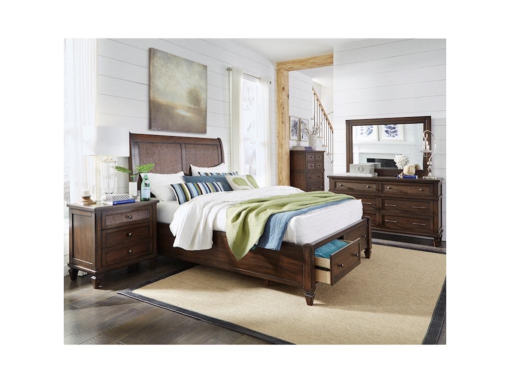 Progressive Furniture CoronadoKing Storage Bed