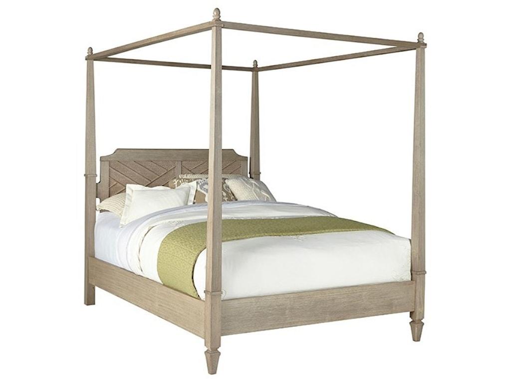 Progressive Furniture CoronadoCalifornia King Canopy Bed