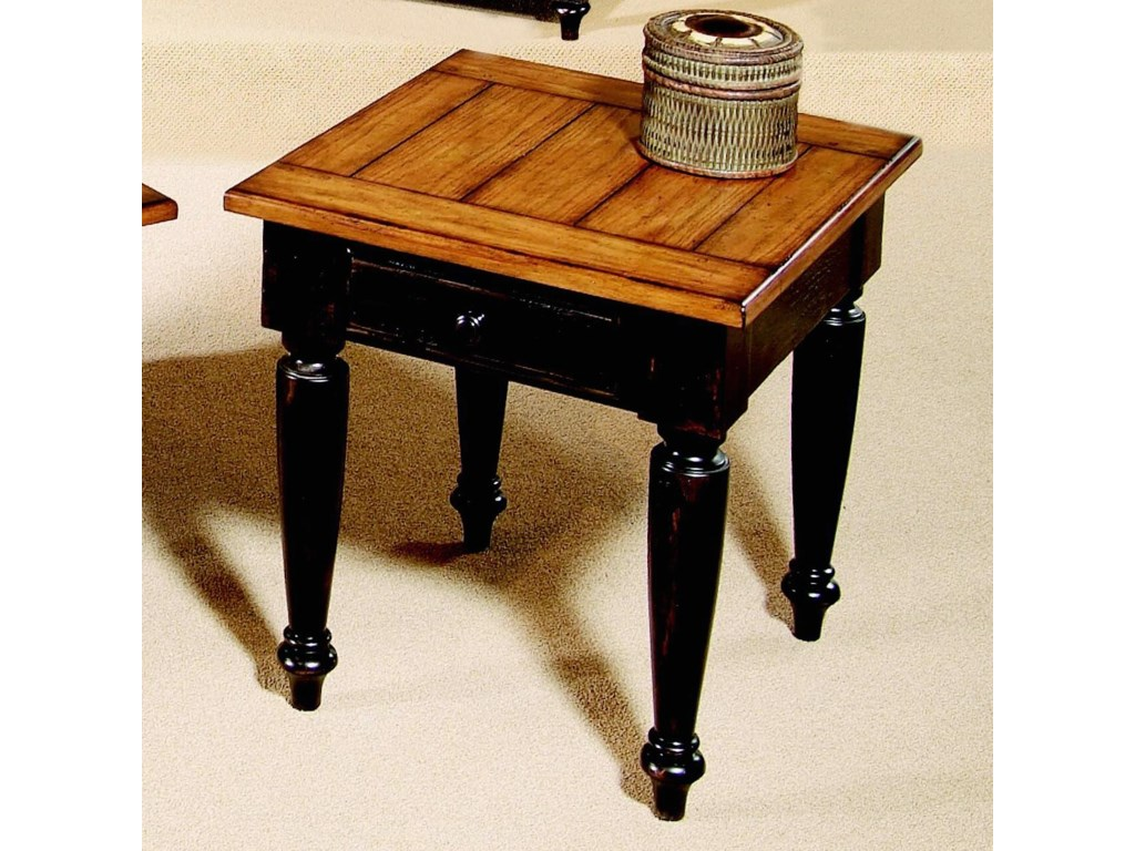 Progressive Furniture Country Vistaend Table