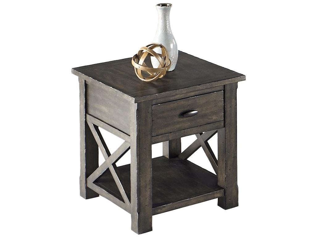 Progressive Furniture CrossroadsRectangular End Table