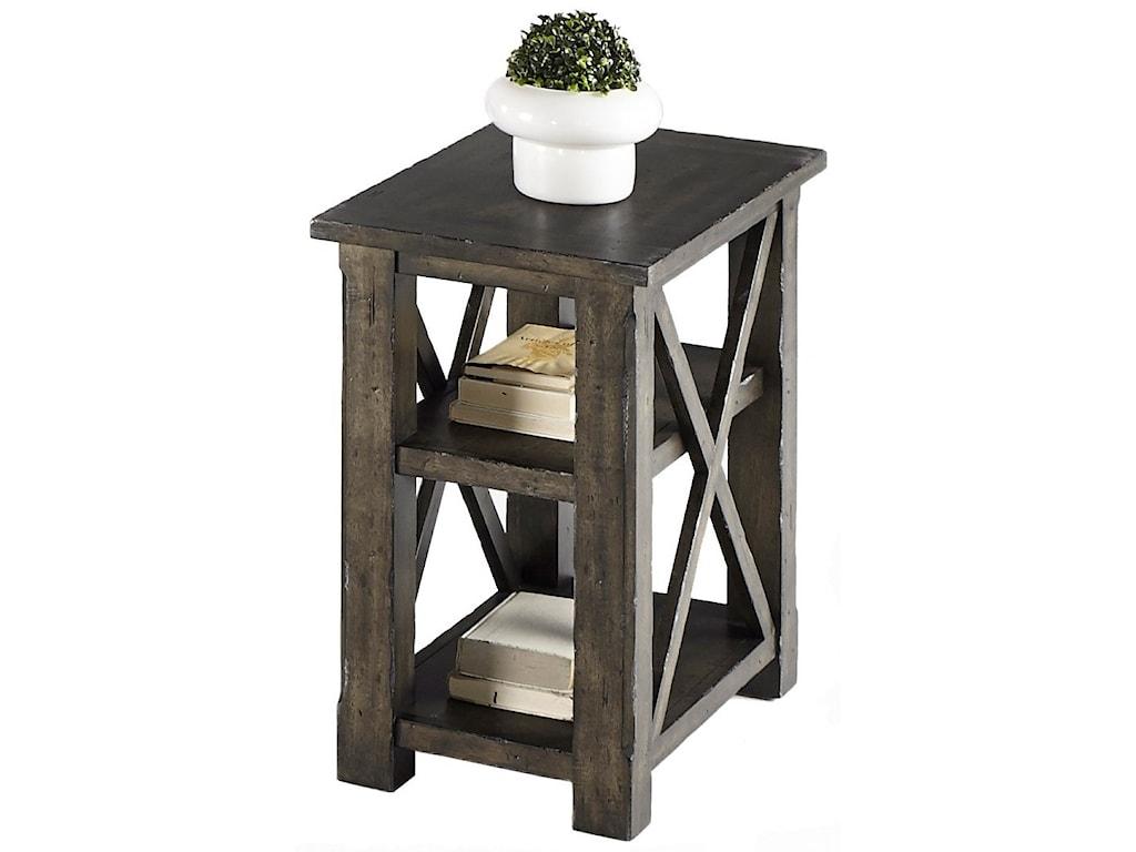 Progressive Furniture CrossroadsChairside Table