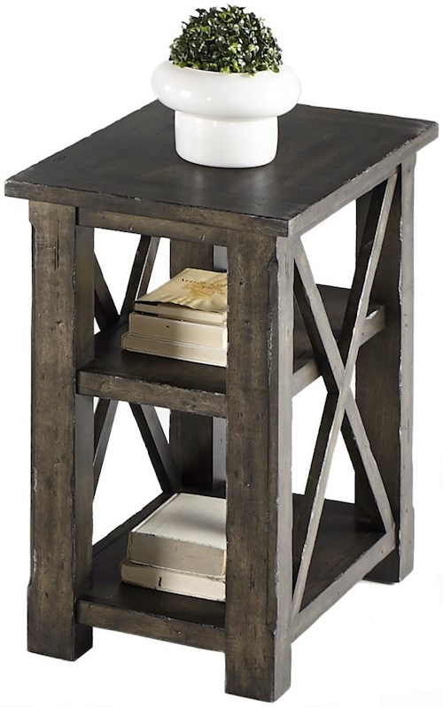Progressive Furniture Crossroads T550 29 Chairside Table