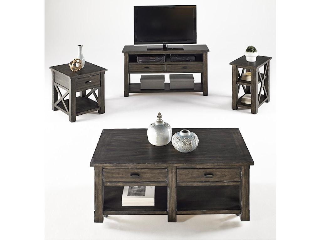 Progressive Furniture CrossroadsEntertainment Console