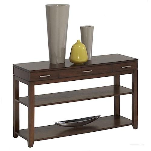 Progressive Furniture Daytona Contemporary Sofa/Console Table