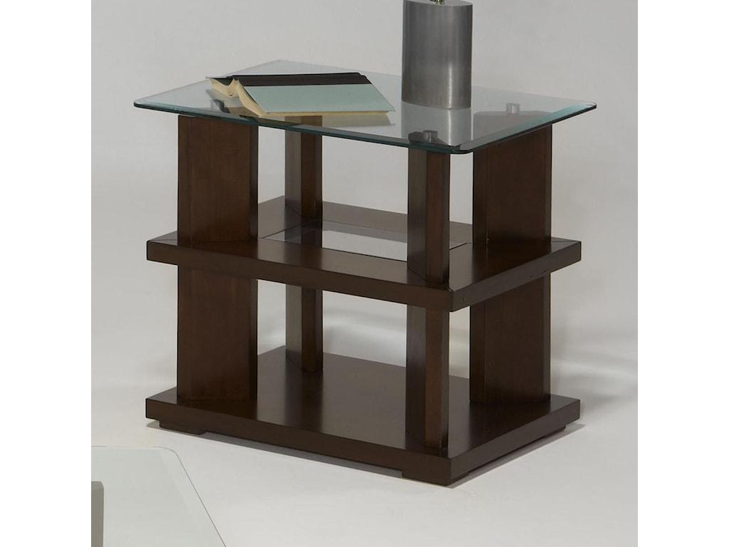 Progressive Furniture DelfinoRectangular End Table