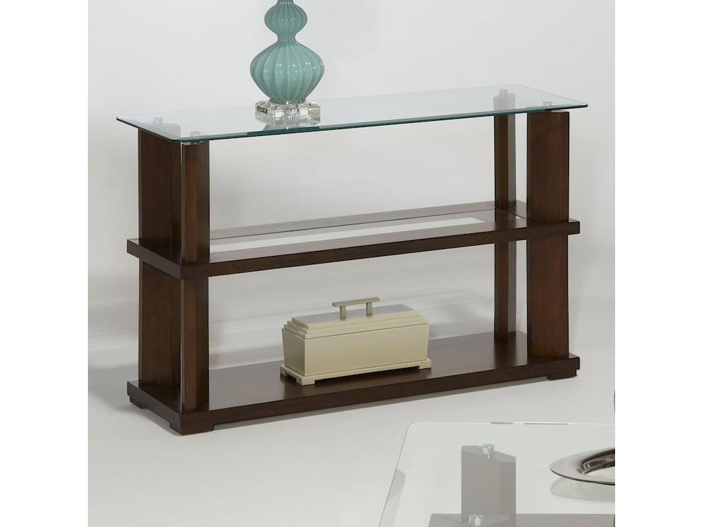 Progressive Furniture DelfinoSofa/Console Table