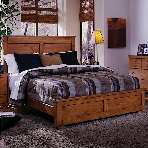 Progressive Furniture Diego Queen Panel Bed