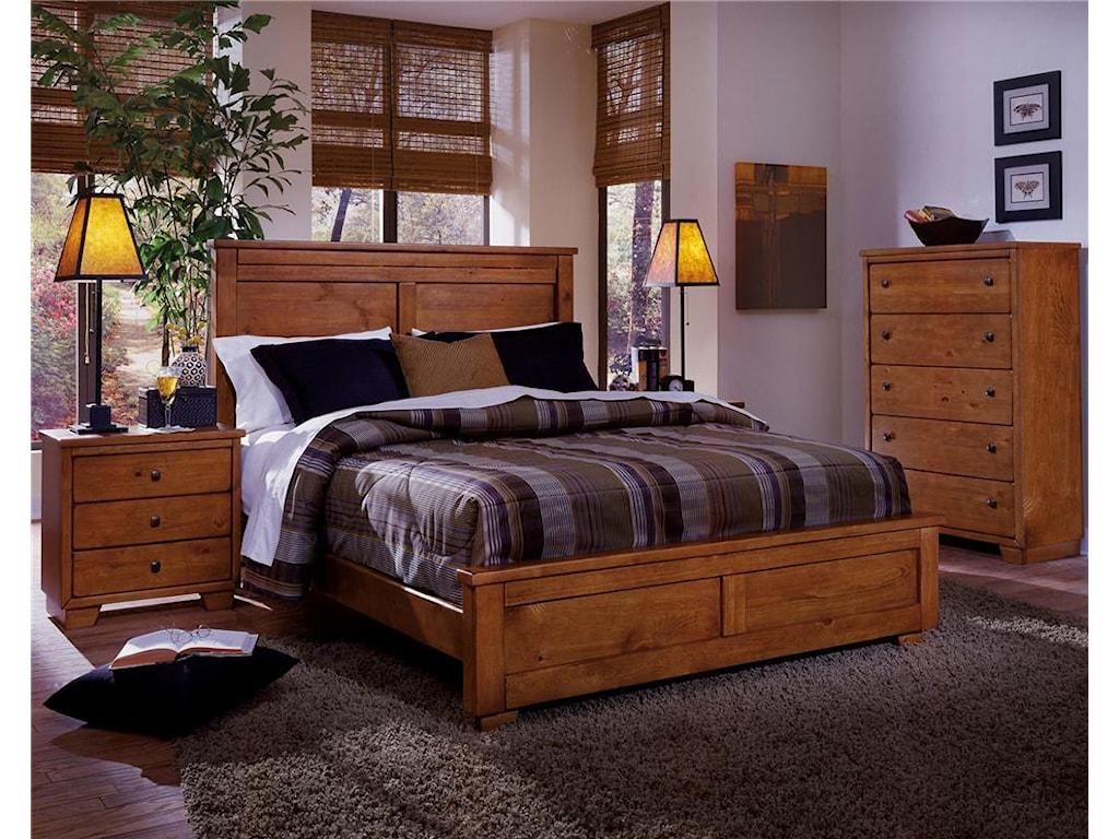 Progressive Furniture DiegoQueen Panel Bed